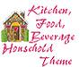 Kitchen, Household Theme Icon