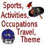 Occpuations, Transportation, Sports, Activities Theme Icon