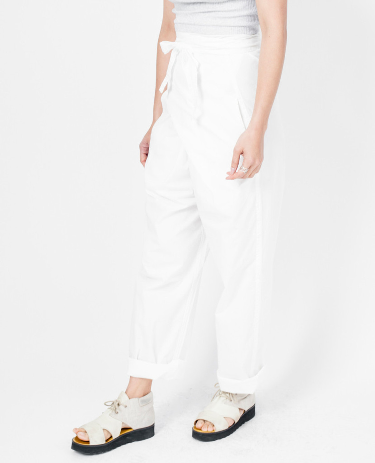 Cosmic Wonder Basic Pants - White
