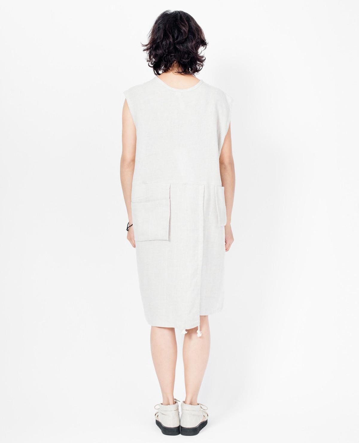 Murnau Dress - Natural Linen