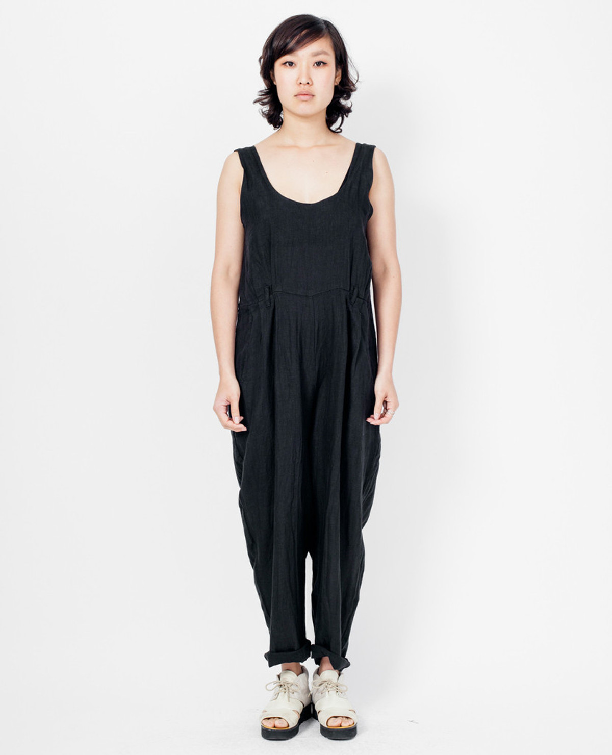 Black Crane Overall - Black