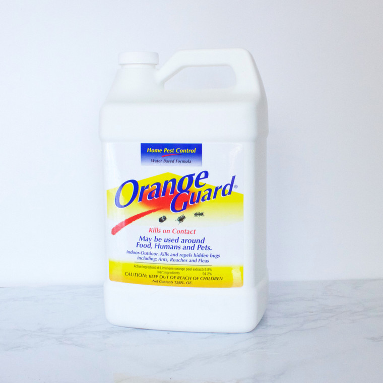 Orange Guard home pest control in 1 gallon bottle