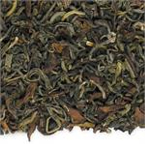 A delightful blend of jasmine, oolong and gunpowder green teas.   Ingredients ( organic): Oolong, green tea & jasmine tea.