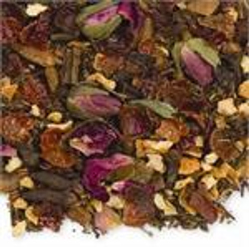 Sweet cinnamon blend with spices and pungent mint.