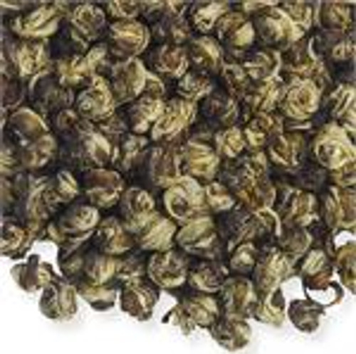 Tiny hand-rolled pearls that come alive with intense jasmine flavor, as they unfurl in the cup. A rare tea for the true tea enthusiast! A rare limited edition tea for the true tea enthusiast!