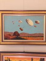 """Original from the book """"Skydiving Beavers""""  3 of 4"""