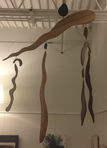 11 Piece Wood Mobile