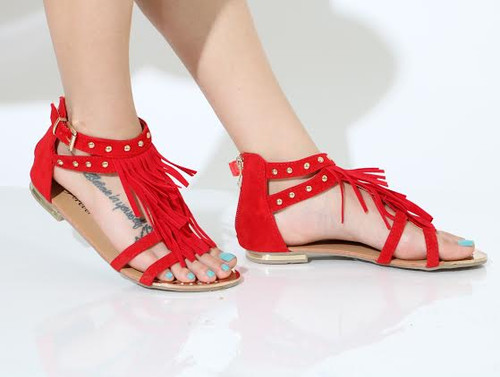 FRINGY Red