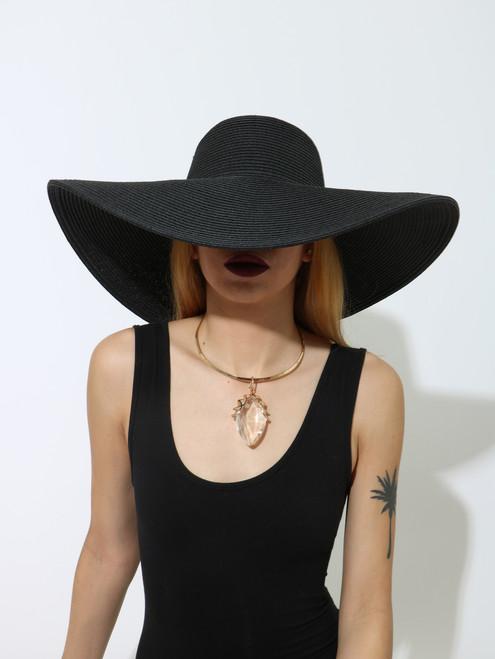 FLOPPY HAT Black