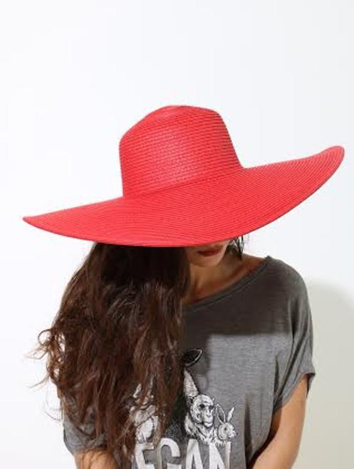 FLOPPY HAT RED