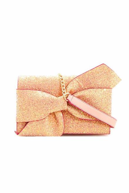 GLITTER BOW Pink
