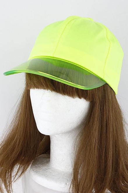 FRESH HAT Neon Yellow