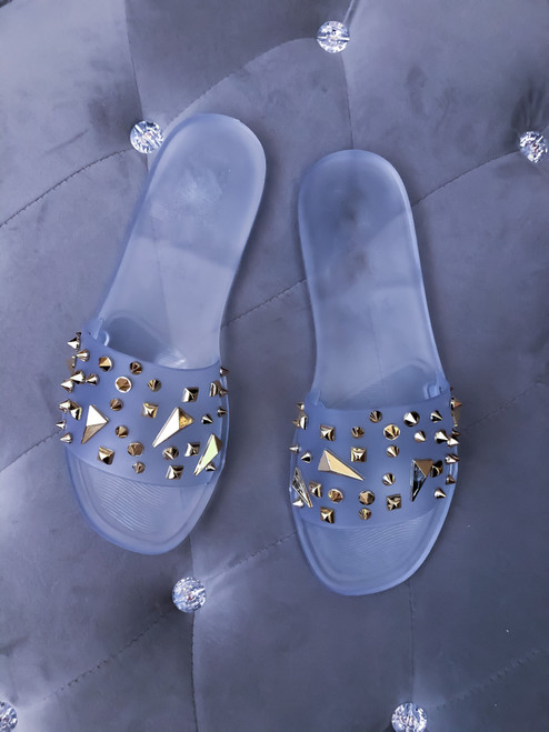 STUDDED JELLY Clear