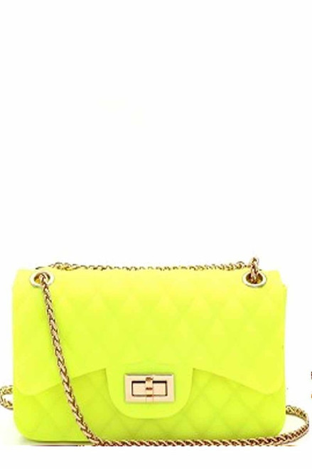 QUILT JELLY NEON YELLOW