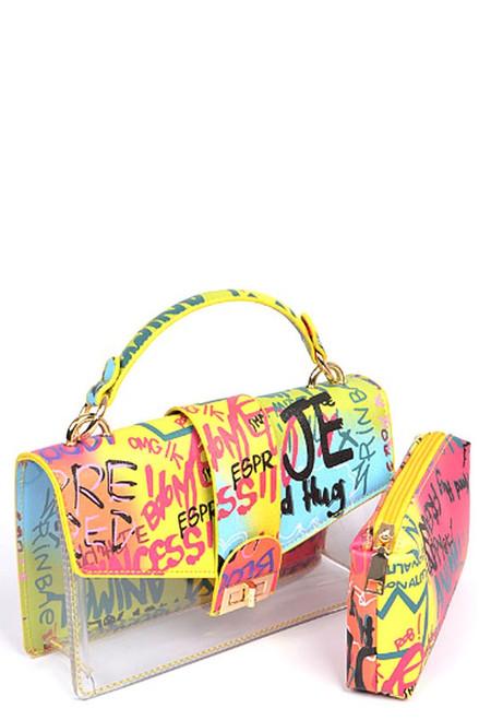GLAM GRAFFITI RAINBOW Bag