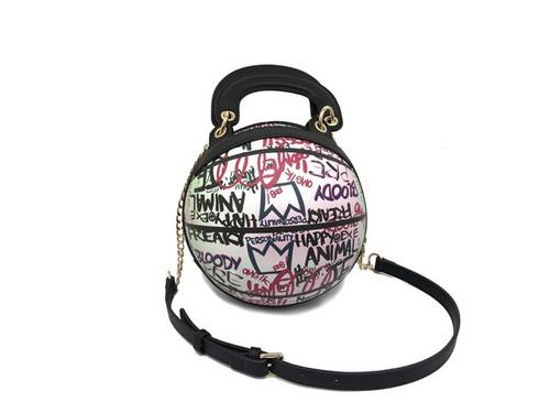 BALL PINK GRAFFITI  BAG