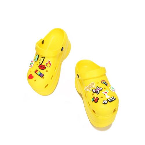 FANCY CLOGS Yellow