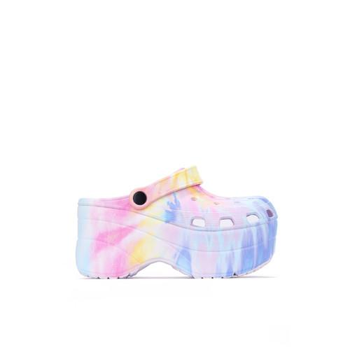 FANCY CLOGS Pastel Tie Dye