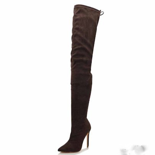 BOSS BABE Chocolate Suede