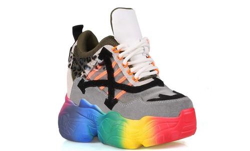 Multi Swag Multi Color Sneakers