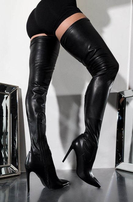 Mindful Thigh High Boots