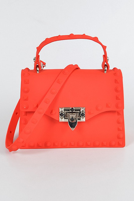 Kelly Small Jelly Purse Red