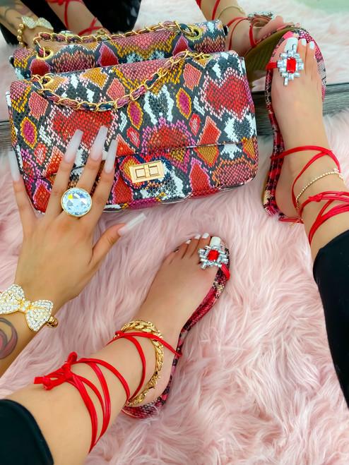 Lucynda Bag Red