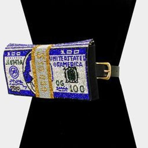 Money Bling Fanny Hudson Royal