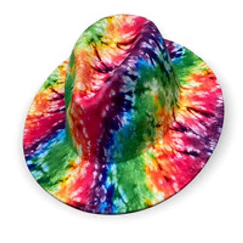 Hottest Fedora Tie Dye