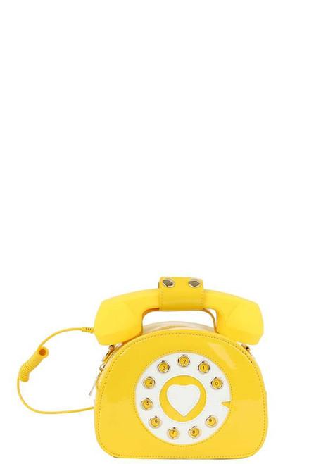 Telephone Bag Yellow