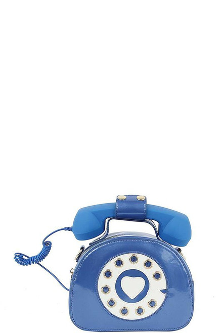 Hudson Telephone Bag Royal Blue