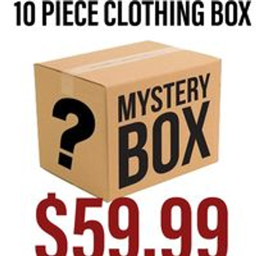 Mystery Clothing Box 10 Pieces -Final Sale