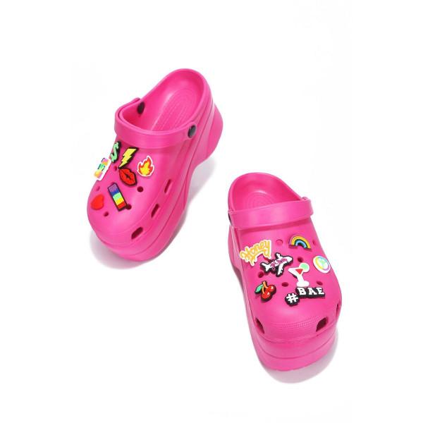 FANCY CLOGS Pink