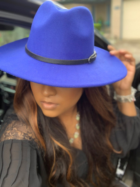 Hudson Royal Red Fedora Hat W