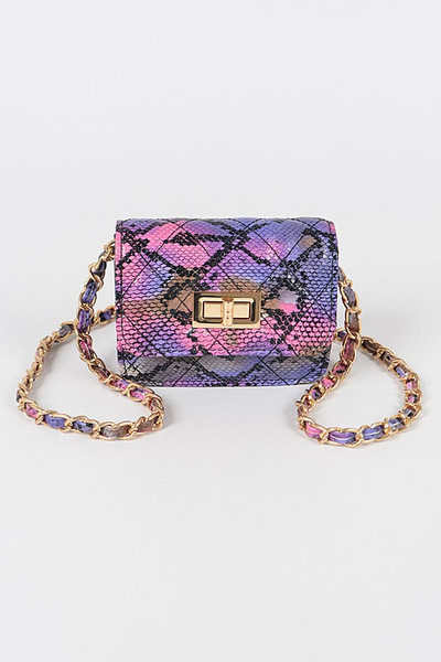 Lucynda Mini Purse Purple