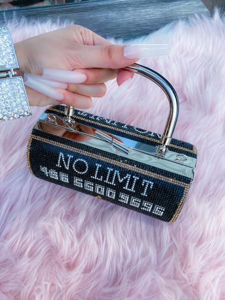 No Limit Card Purse Black