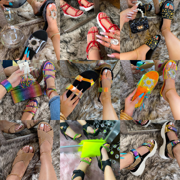 Mystery Sandal Box 10 Pairs -Final Sale