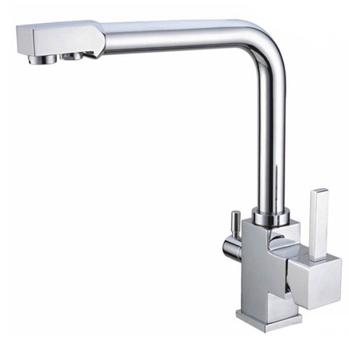 Waterlux Wl 304 Elegant Three Way Hot Cold Kitchen Faucet For Ro