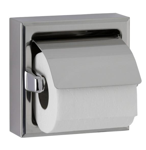 Bobrick B-6737 x 24 Surface-Mounted Towel Bar, Satin