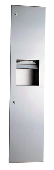 Bobrick B-3803 TrimLineSeries™ Recessed Paper Towel Dispenser/Waste Receptacle