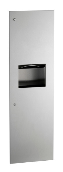 Bobrick B-39003 TrimLineSeries™ Recessed Paper Towel Dispenser/Waste Receptacle