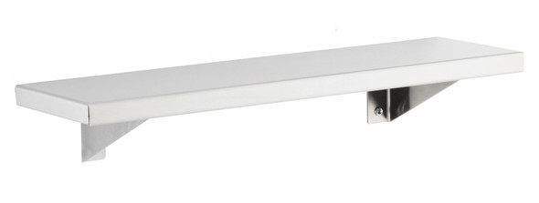 Bobrick B-296 x 18 Stainless Steel Shelf