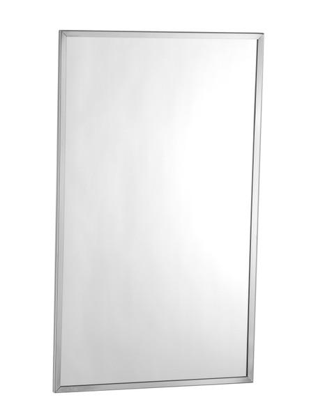 Bobrick B-1658 1830 Tempered Glass Channel Frame