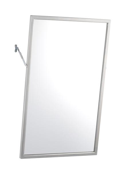 Bobrick B-294 1830 Angle-Frame Tilting Mirror