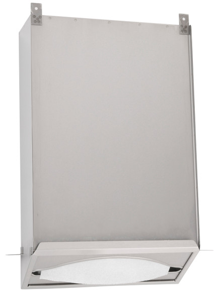 Bobrick B-318 Recessed Paper Towel Dispenser