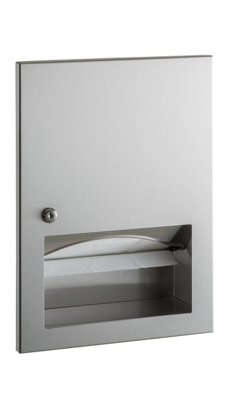 Bobrick B-359033 TrimLineSeries™ Recessed Paper Towel Dispenser