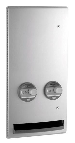 Bobrick B-4706C ConturaSeries® Recessed Napkin/Tampon Vendor