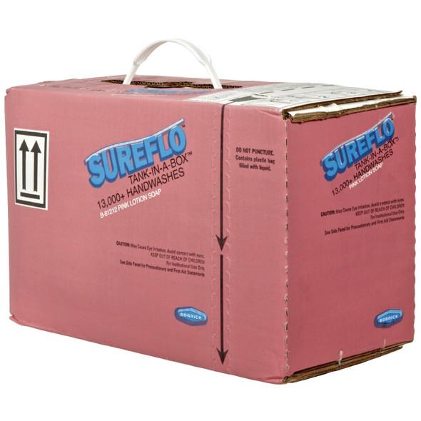 Bobrick B-81212 Pink Lotion Soap Cartridge, Liquid