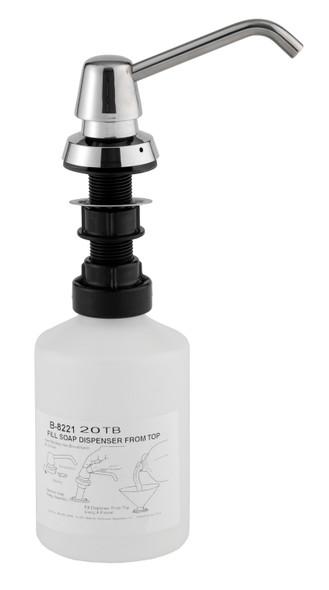 Bobrick B--8221 Manual Soap Dispenser, Liquid