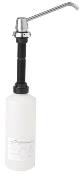 Bobrick B--8226 Manual Soap Dispenser, Liquid